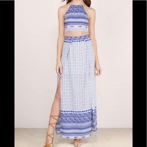 Tobi Two Piece Boho Maxi Set